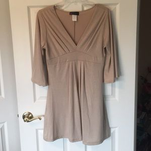 Tan dress - Body Central